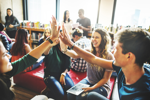 Clases en grupo en inglés
