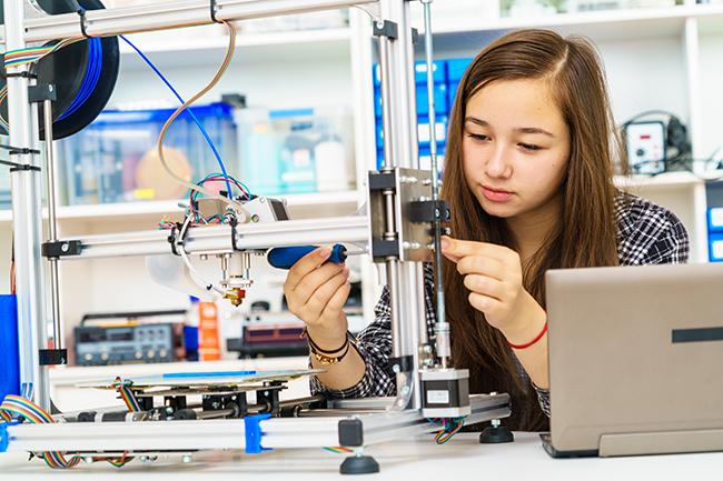 Cursos de robótica y ciencia en inglés