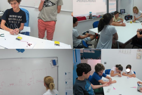 Finalizado el primer curso de robótica en inglés de TalkTalk Idiomas